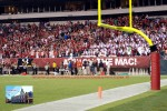 Endzone View of Owl Fans
