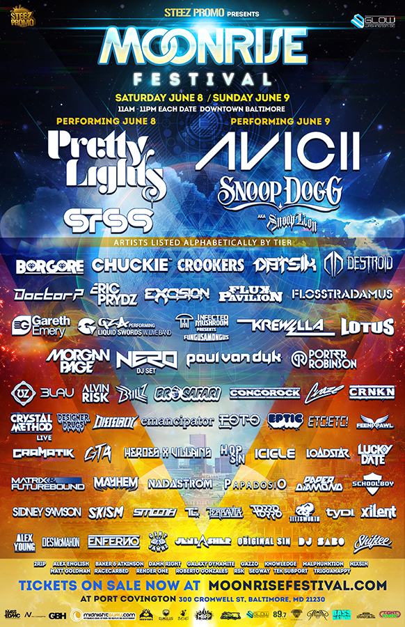 MOONRISE FULL LINEUP