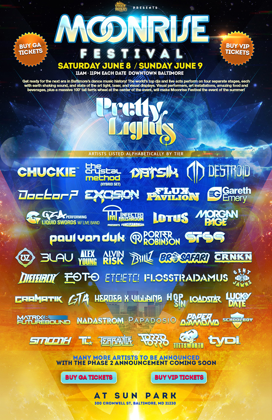 Moonrise Festival Flyer